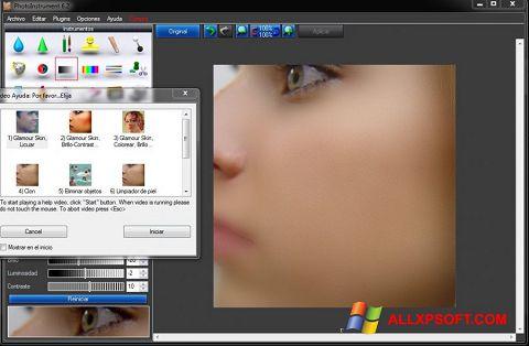 Posnetek zaslona PhotoInstrument Windows XP