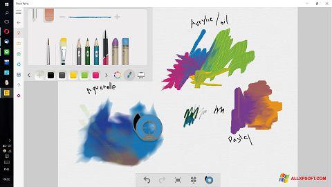 Posnetek zaslona Fresh Paint Windows XP
