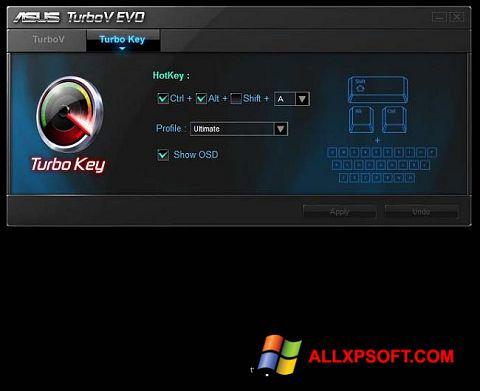 Posnetek zaslona TurboV EVO Windows XP