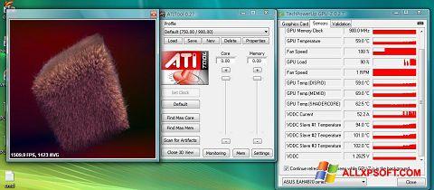 Posnetek zaslona ATITool Windows XP