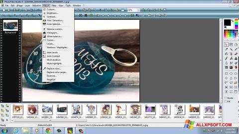 Posnetek zaslona PhotoFiltre Studio X Windows XP