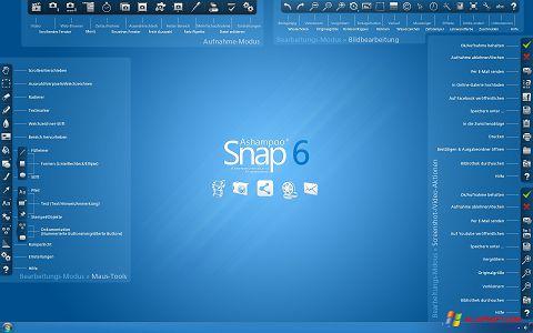 Posnetek zaslona Ashampoo Snap Windows XP