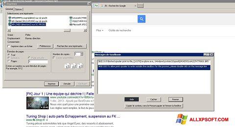 Posnetek zaslona Sandboxie Windows XP