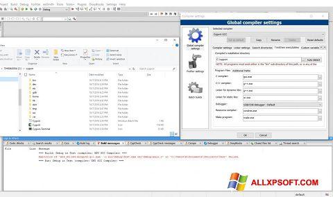 Posnetek zaslona Cygwin Windows XP