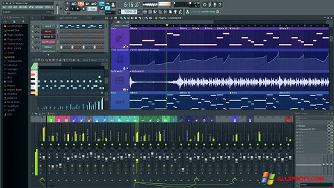 Posnetek zaslona FL Studio Windows XP