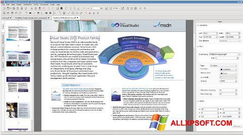 Posnetek zaslona Master PDF Editor Windows XP