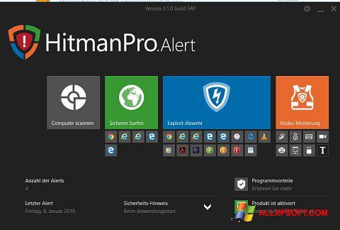 Posnetek zaslona HitmanPro Windows XP