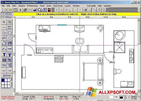Posnetek zaslona Home Plan Pro Windows XP