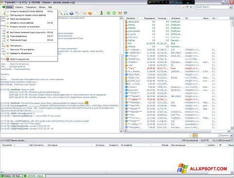 Posnetek zaslona FlylinkDC++ Windows XP