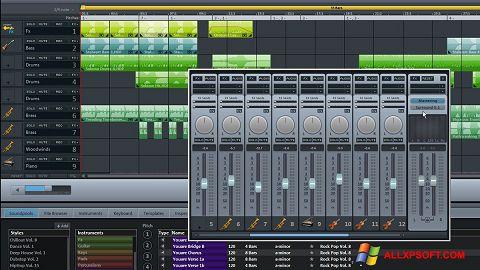 Posnetek zaslona MAGIX Music Maker Windows XP