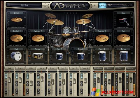 Posnetek zaslona Addictive Drums Windows XP