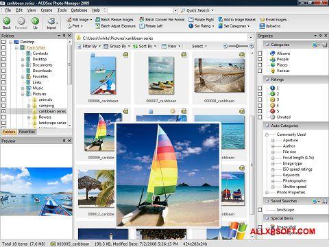 Posnetek zaslona ACDSee Photo Manager Windows XP