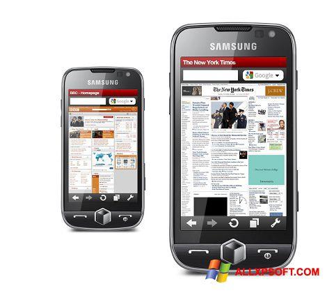 Posnetek zaslona Opera Mobile Windows XP