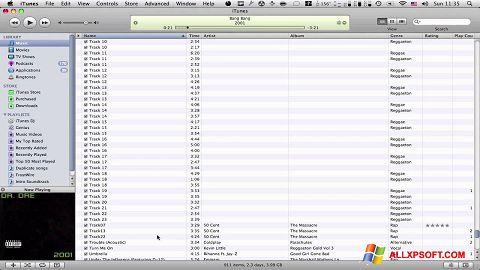 Posnetek zaslona Tunatic Windows XP