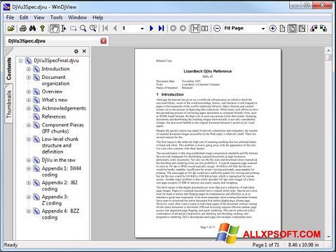 Posnetek zaslona WinDjView Windows XP