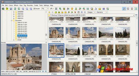 Posnetek zaslona FastStone Image Viewer Windows XP