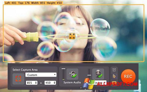 Posnetek zaslona Movavi Screen Capture Windows XP