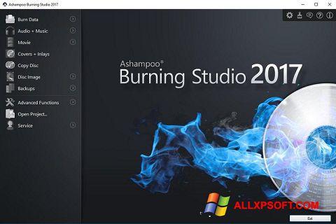 Posnetek zaslona Ashampoo Burning Studio Windows XP